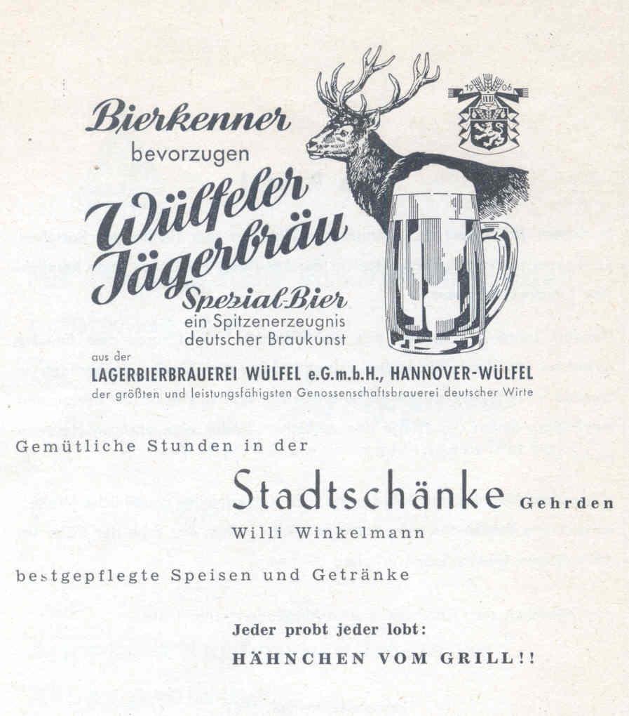 Gehrdener Ansichten - Stadtschänke / Goldenes Horn